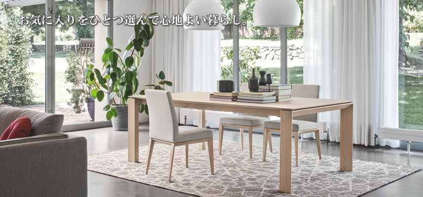 THE HOME calligaris カリガリス ダイニング